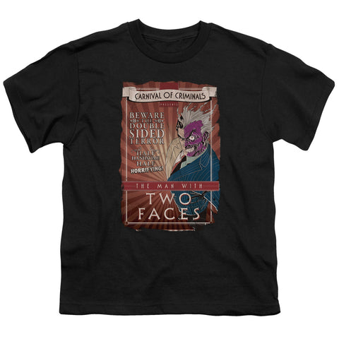 Batman Two Faces Youth 18/1 100% Cotton SS T