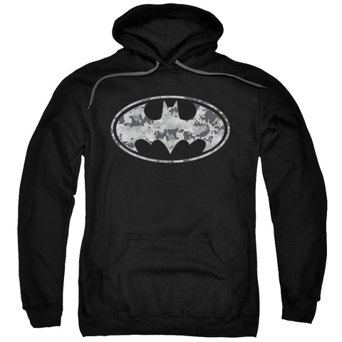 Batman Urban Camo Shield Men's Pull-Over 75 25 Poly Hoodie