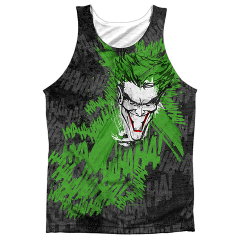 Batman Whats So Funny Men's Regular Fit Polyester Tank Top