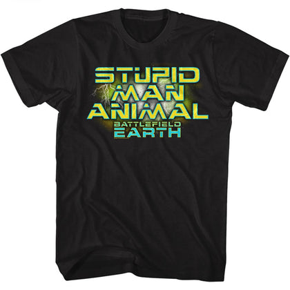 Battlefield Earth Special Order Man Animal Adult S/S T-Shirt
