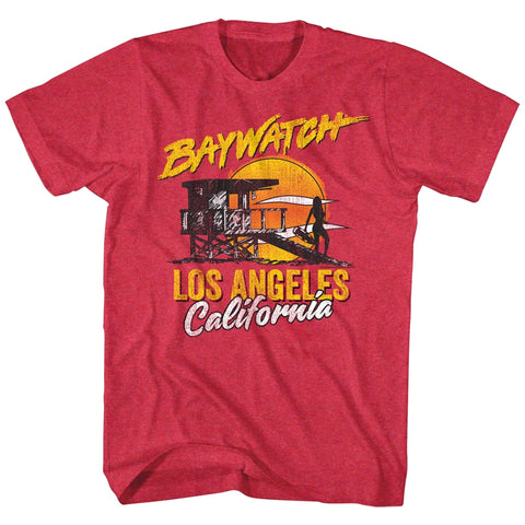 Baywatch Special Order Retrowatch Adult S/S T-Shirt