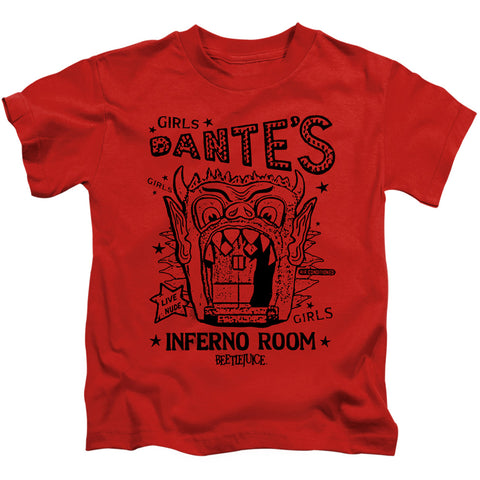 Beetlejuice Dantes Inferno Room Juvenile 18/1 Cotton SS T