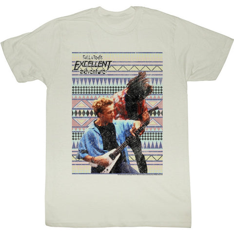 Bill And Ted Special Order Rockin Out Adult S/S T-Shirt