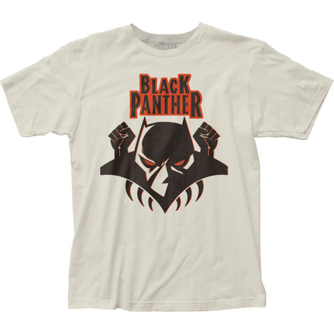 Black Panther Logo fitted jersey tee - Men's - 100% Cotton