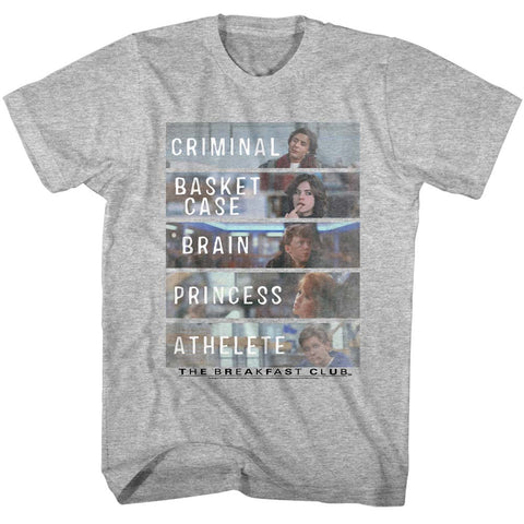 Breakfast Club Special Order Bf Club Adult S/S T-Shirt