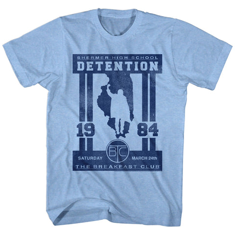 Breakfast Club Special Order Detention Adult S/S T-Shirt
