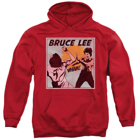 Bruce Lee Comic Panel Men's Pull-Over 75 25 Poly Hoodie
