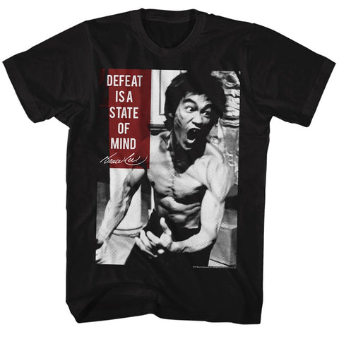 Bruce Lee Special Order Stateofmind Adult S/S T-Shirt