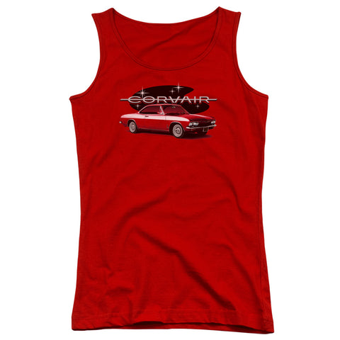 Chevrolet 65 Corvair Mona Spyda Coupe Junior's 100% Cotton Tank Top