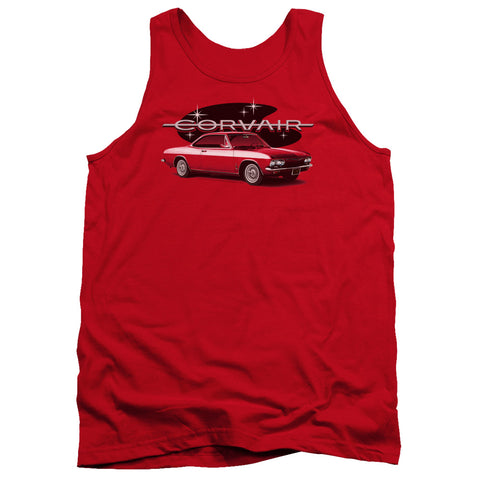 Chevrolet 65 Corvair Mona Spyda Coupe Men's 18/1 Cotton Tank Top