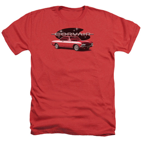 Chevrolet 65 Corvair Mona Spyda Coupe Men's 30/1 Heather 60 40 Poly SS T