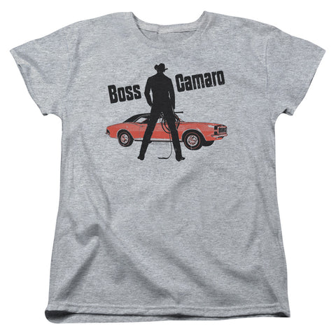 Chevrolet Boss Women's 18/1 Cotton SS T