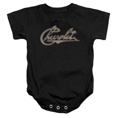 Chevrolet Chevy Script Infant's Cotton SS Snapsuit