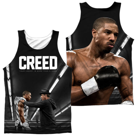 Creed Poster (Front/Back Print) Men's Regular Fit Polyester Tank Top