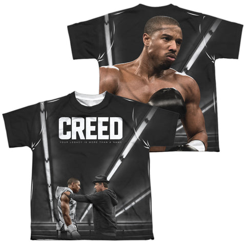 Creed Poster (Front/Back Print) Youth Regular Fit Poly SS T