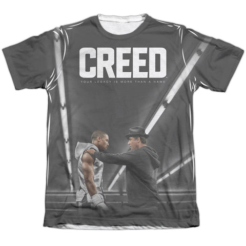 Creed Poster Men's Regular Fit Poly Cotton SS T