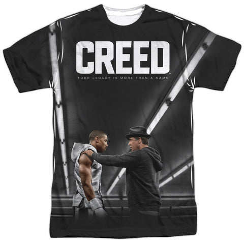Creed Poster Men's Regular Fit Polyester SS T