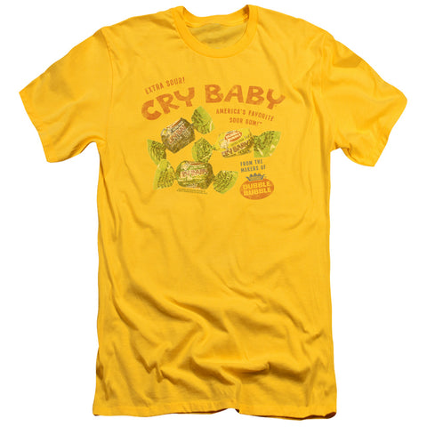Cry Babies Vintage Ad Men's 30/1 Cotton Slim SS T