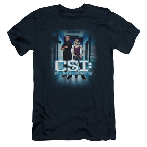 CSI Serious Business Men's 30/1 Cotton Slim SS T