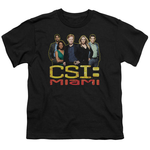 CSI The Cast In Black Youth 18/1 100% Cotton SS T