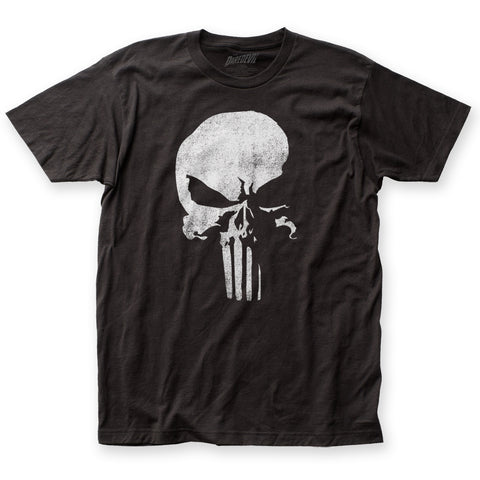 Daredevil Punisher Logo fitted jersey tee - Men's - 100% Cotton