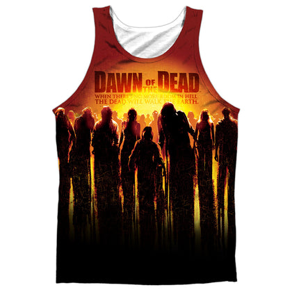Dawn Of The Dead Swarm Men's Regular Fit Polyester Tank Top