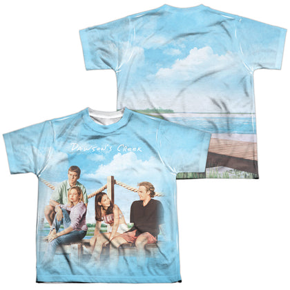 Dawson's Creek Creek Life (Front/Back Print) Youth Regular Fit Poly SS T