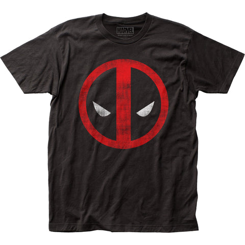 Deadpool Distressed Logo fitted jersey tee - Men's - 100% Cotton