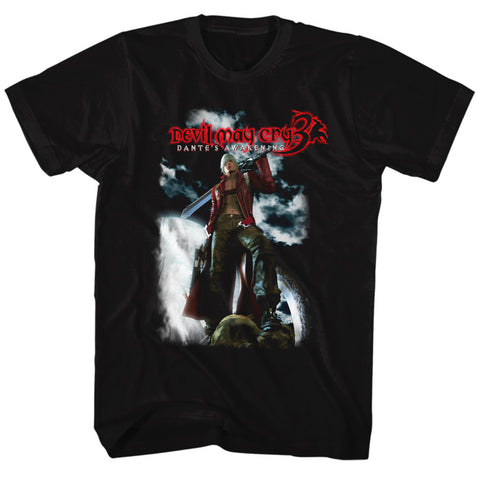 Devil May Cry Special Order Dante'S Awakening (Dmc 3) Adult S/S T-Shirt