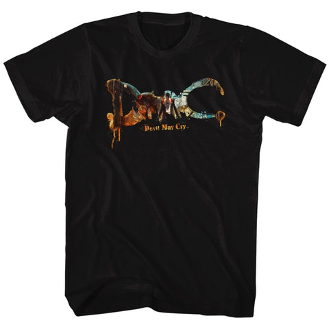 Devil May Cry Special Order Dmc Devil May Cry Adult S/S T-Shirt