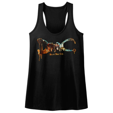 Devil May Cry Special Order Dmc Devil May Cry Ladies  Racerback