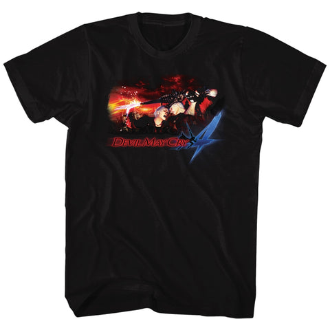 Devil May Cry Special Order Face Your Demons Adult S/S T-Shirt