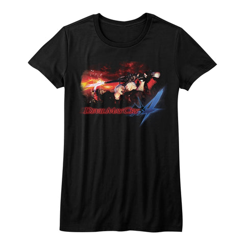 Devil May Cry Special Order Face Your Demons Juniors S/S T-Shirt