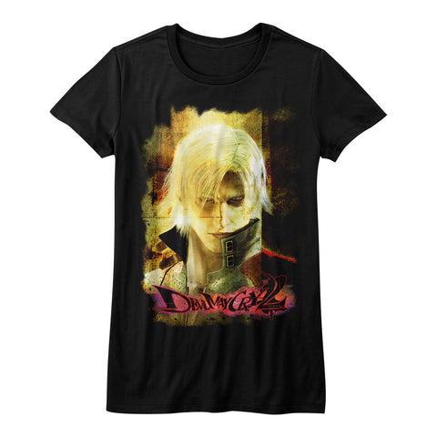 Devil May Cry Special Order Grunge Stare Juniors S/S T-Shirt