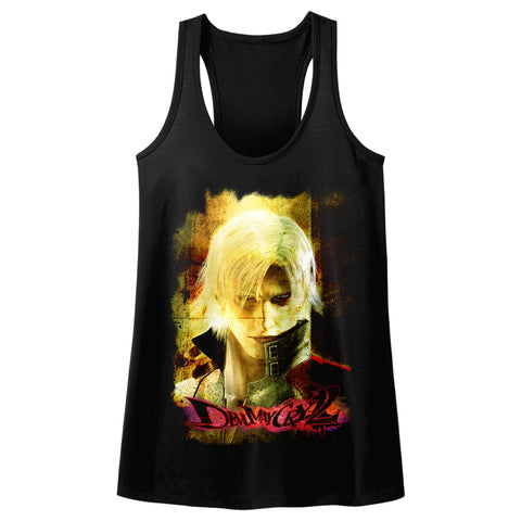 Devil May Cry Special Order Grunge Stare Ladies  Racerback