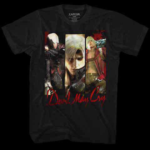 Devil May Cry Special Order Trio Adult S/S T-Shirt