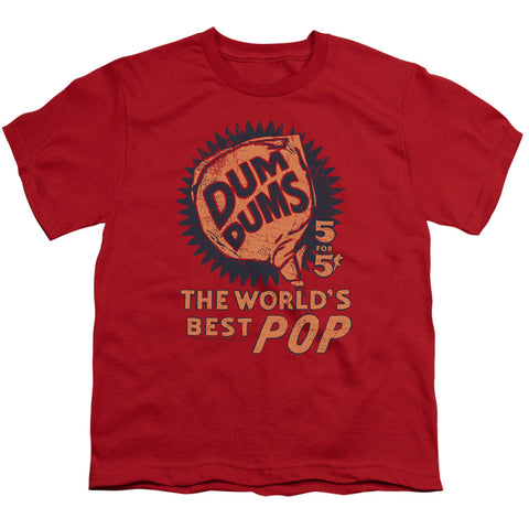 Dum Dums 5 For 5 Youth 18/1 100% Cotton SS T