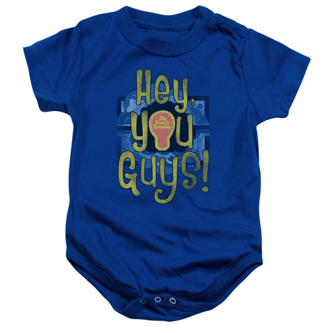 Electric Company Hey You Guys Infant's Cotton SS Snapsuit