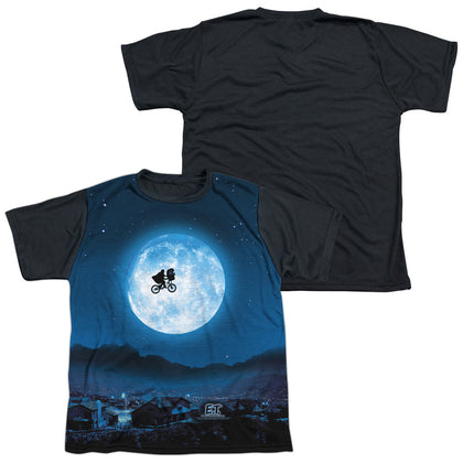 ET Moon Youth Black Back Poly Regular Fit SS T
