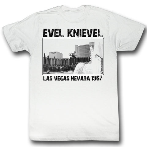 Evel Knievel Special Order 1967 Adult S/S T-Shirt