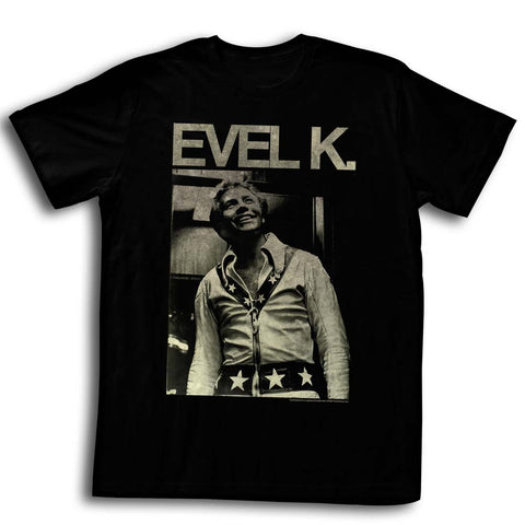 Evel Knievel Special Order Evel K Adult S/S T-Shirt