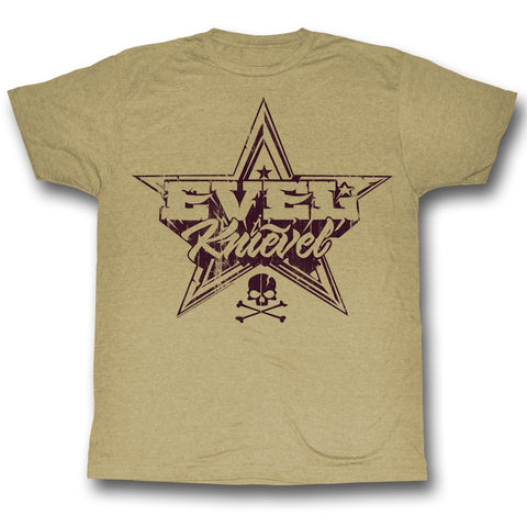 Evel Knievel Special Order Rock And Roll Adult S/S T-Shirt