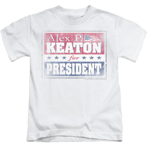 Family Ties Alex For President Juvenile 18/1 Cotton SS T