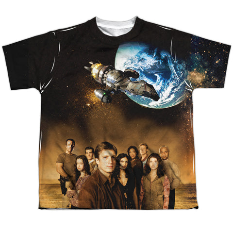 Firefly Cast Youth Regular Fit Poly SS T