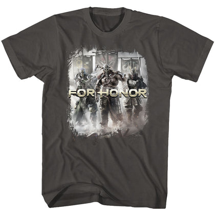 For Honor Special Order Warriors Of Honor Adult S/S T-Shirt