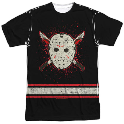 Friday The 13th Voorhees Jersey Men's Regular Fit Polyester SS T