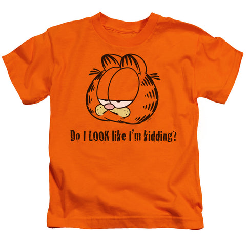 Garfield Do I Look Like Im Kidding Juvenile 18/1 Cotton SS T