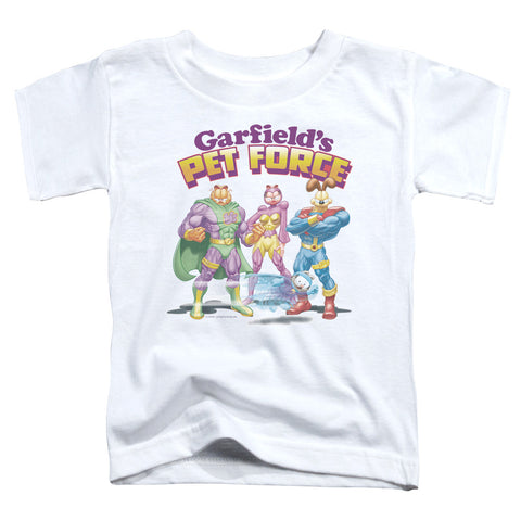 Garfield Heroes Await Toddler 18/1 Cotton SS T