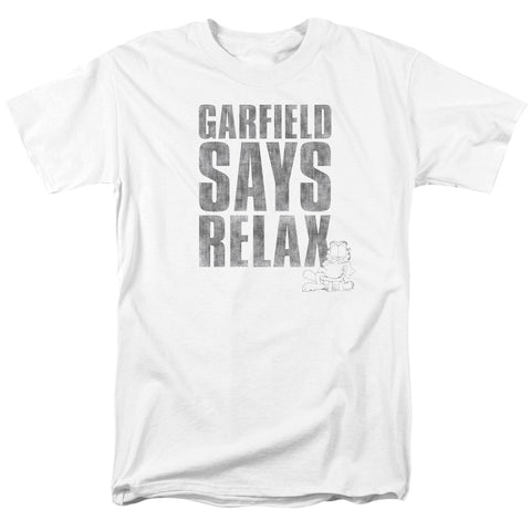 Garfield Relax Men's 18/1 Cotton SS T