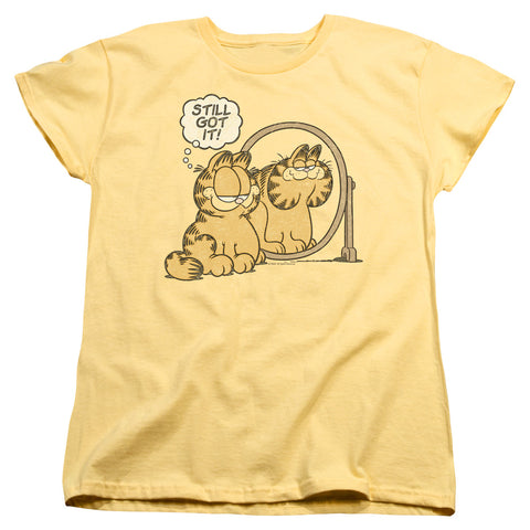 Garfield Still Got It Women's 18/1 Cotton SS T